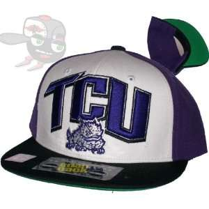 TCU Horned Frogs Top of the World Snapback Hat Cap