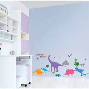 World removable Vinyl Mural Art Wall Sticker Decal