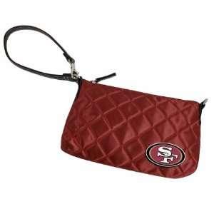 Retro NFL San Francisco 49ers Retro Quilted Wristlet Sports