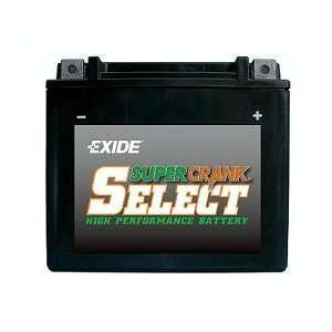 Exide Motorcycle Battery 14BS: Automotive
