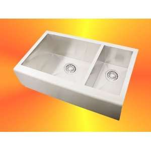 Stainless Steel Square Front Apron Kitchen Sink