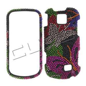 on Black Cristalina crystal bling case cover Samsung M910 Intercept