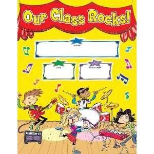 Scholastic TF2513 School Rocks Welcome Chart [Office