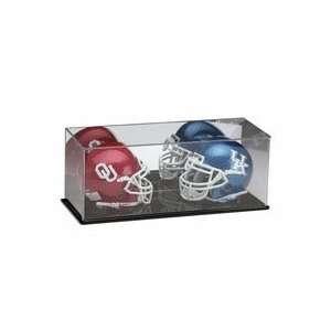 Dual Mini Football Helmet Display Case from Schutt  Sports