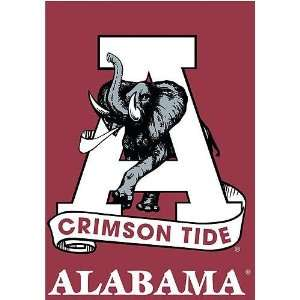 Alabama Crimson Tide NCAA Screen Print Flag  Sports