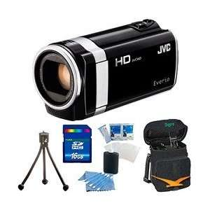 Full HD Memory Camcorder (Black)   16 GB Memory Bundle Camera & Photo