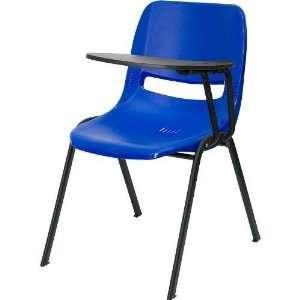 Flash Furniture RUT EO1 BL LTAB GG Ergonomic Shell Chair with Left
