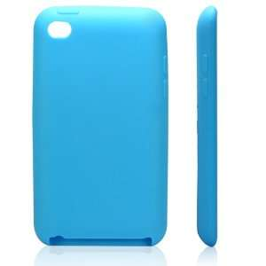 High Quality Light Blue Soft Silicone Protective Case Cover for iPod
