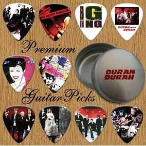Duran Duran Premium Guitar Picks X 10 In Tin (O) Musical Instruments