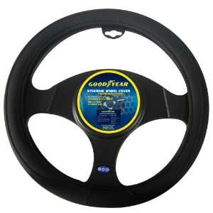 Goodyear GY SWC315 Black Steering Wheel Cover Automotive