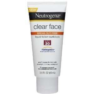 Neutrogena Clear Skin Sunblock Lotion SPF 30, 88 ML (PACK