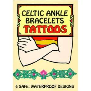 Celtic Ankle Bracelets Tattoos (Temporary Tattoos