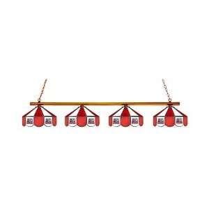 Alabama Crimson Tide 4 Light Game Table Lamp