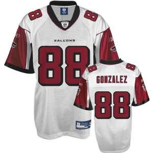 Tony Gonzalez White Reebok NFL Replica Atlanta Falcons Jersey