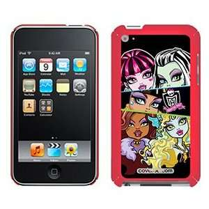 Monster High 5 Girls on iPod Touch 4G XGear Shell Case