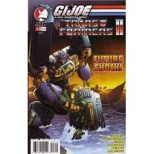 G.I. JOE VS. THE TRANSFORMERS, VOL 2 #3 (COMIC BOOK, COVER