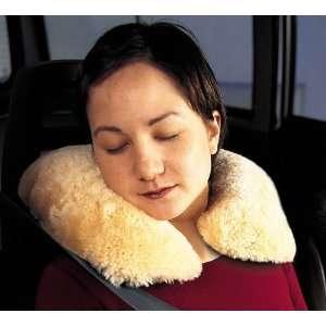Classic Accessories 30302 Sheepskin Travel Pillow, Beige Automotive