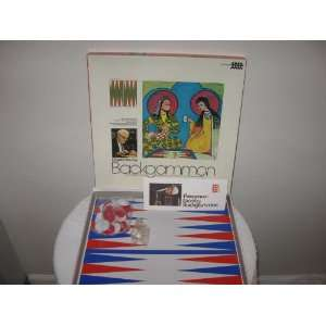 Oswald Jacoby Backgammon Board Game 1973 Unknown