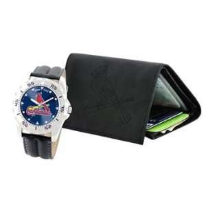St. Louis Cardinals MLB Wallet & Watch Gift Set