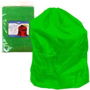 Heavy Duty Jumbo Sized Nylon Laundry Bag   Green Electronics