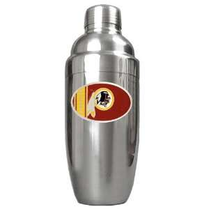 Washington Redskins NFL Stainless Steel Cocktail Shaker