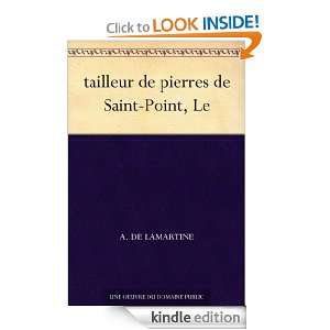 tailleur de pierres de Saint Point, Le (French Edition): A. de