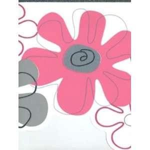 Wallpaper York York Kids 4 FLOWER POWER BORDER YK0147B