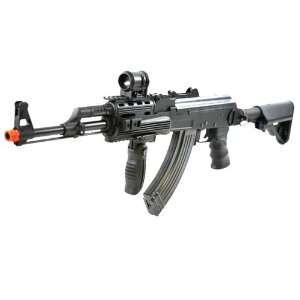 SRC FULL METAL Airsoft AK47 Tactical RAS AEG Rifle w/ Full