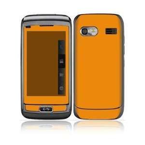 Simply Orange Design Protective Skin Decal Sticker for LG
