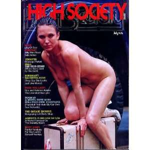HIGH SOCIETY MAGAZINE #3 july 1976: Gloria Leonard: Books