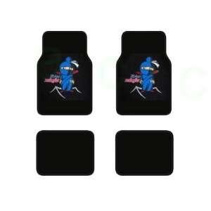 Universal Fit Plush Carpet Floor Mats For Cars / Trucks   Flying Ninja