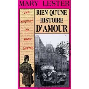 Rien quune histoire damour (French Edition