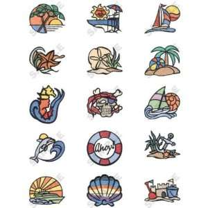 Nautical Daydreams Embroidery Designs by Dakota Collectibles on Multi