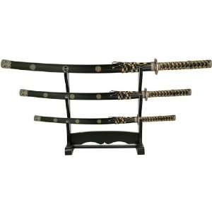 Reverse Blade Sword Set   Black