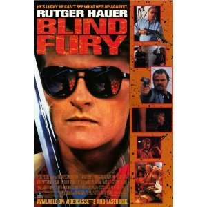 Blind Fury Movie Poster (11 x 17 Inches   28cm x 44cm