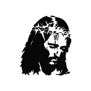 Jesus Christ Blood Save Life   Message Decal Vinyl Car Wall Laptop