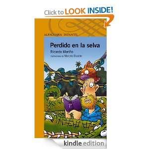 Perdido en la selva (Spanish Edition) Ricardo Mariño