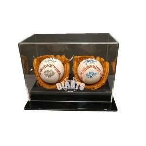 San Francisco Giants Two Ball Soft Brown Gloves Sports