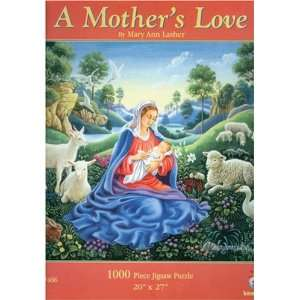 A Mother Love Jigsaw Puzzle 1000pc Toys & Games