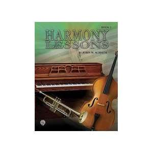 Harmony Lessons   Book 1 (Note Speller 3)   Piano