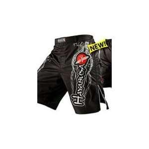 Hayabusa Mizuchi Fight Shorts   Black: Sports & Outdoors
