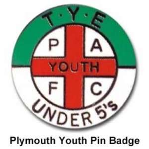 Plymouth Hooligans Badge  Sports & Outdoors