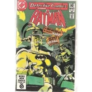 Detective Comics Starring Batman 510 (Head hunt by a Mad