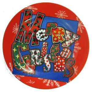 Its In the Bag 8 Inch Ceramic Christmas Plate 9943 Home
