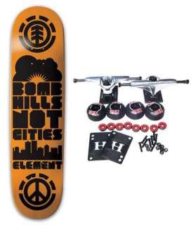 ELEMENT SKATEBOARDS 7.75 BOMB HILLS Complete Skateboard