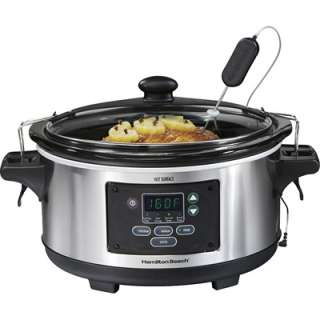 Hamilton Beach 6Qt Set N Forget Slow Cooker  Meijer