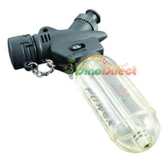 Degrees Refillable Cigarette Butane Jet Torch Lighter   DinoDirect