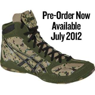ASICS Split Second 9 Limited Edition Camouflage Wrestling Shoes