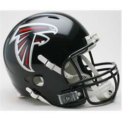 Atlanta Falcons Full Size Riddell Football Helmet