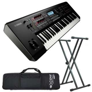 Yamaha MOX6 Music Production Synthesizer, Limited Offer Pack at